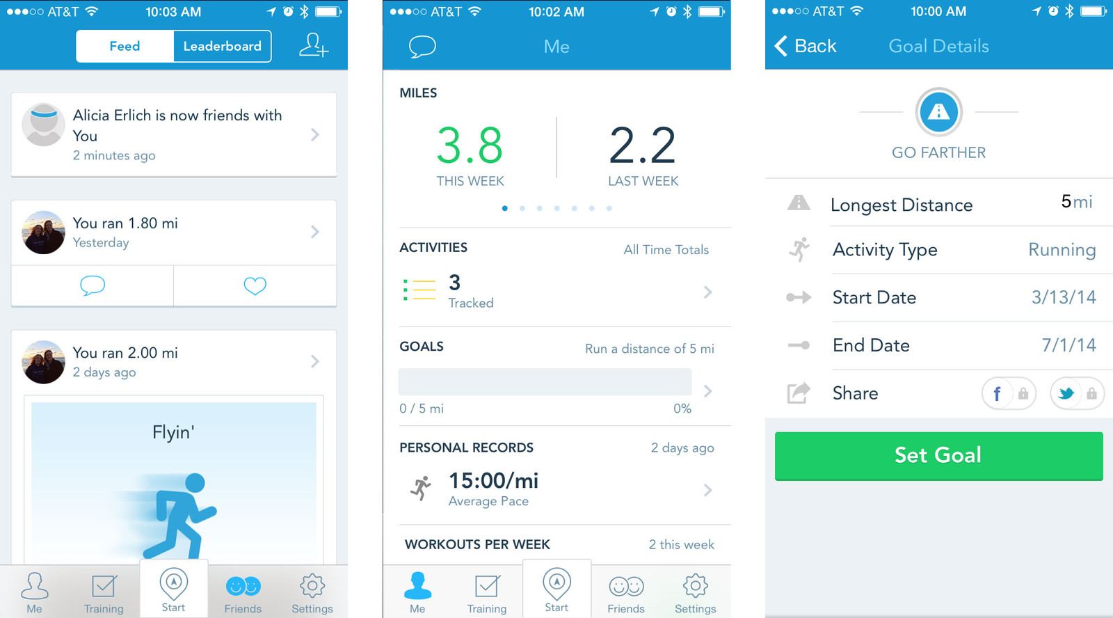 Best run tracking apps for iPhone: RunKeeper