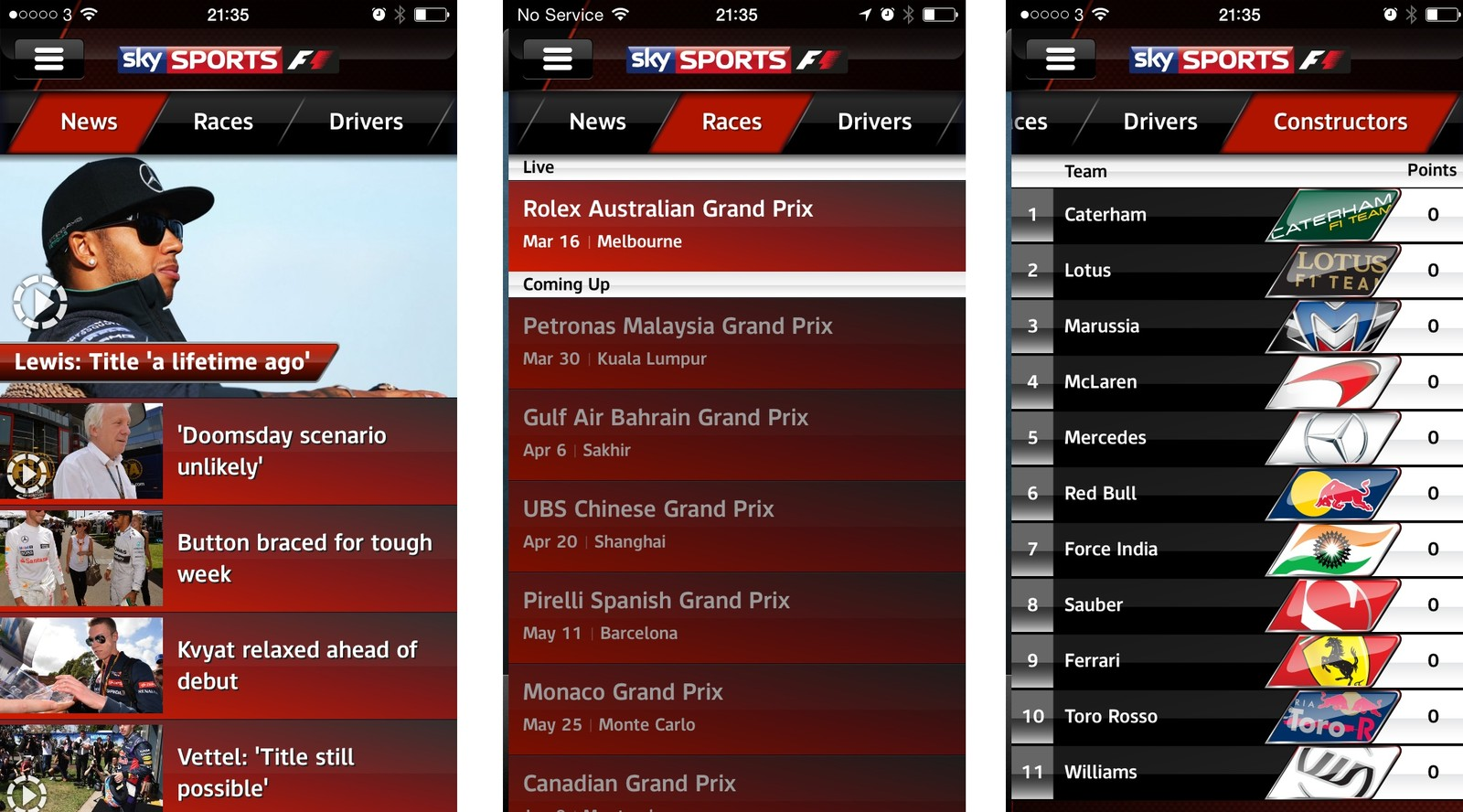 Sky Sports Mobile