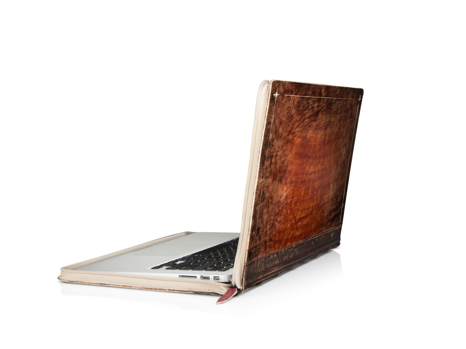 Rutledge Edition BookBook by offers a unique look for your MacBook