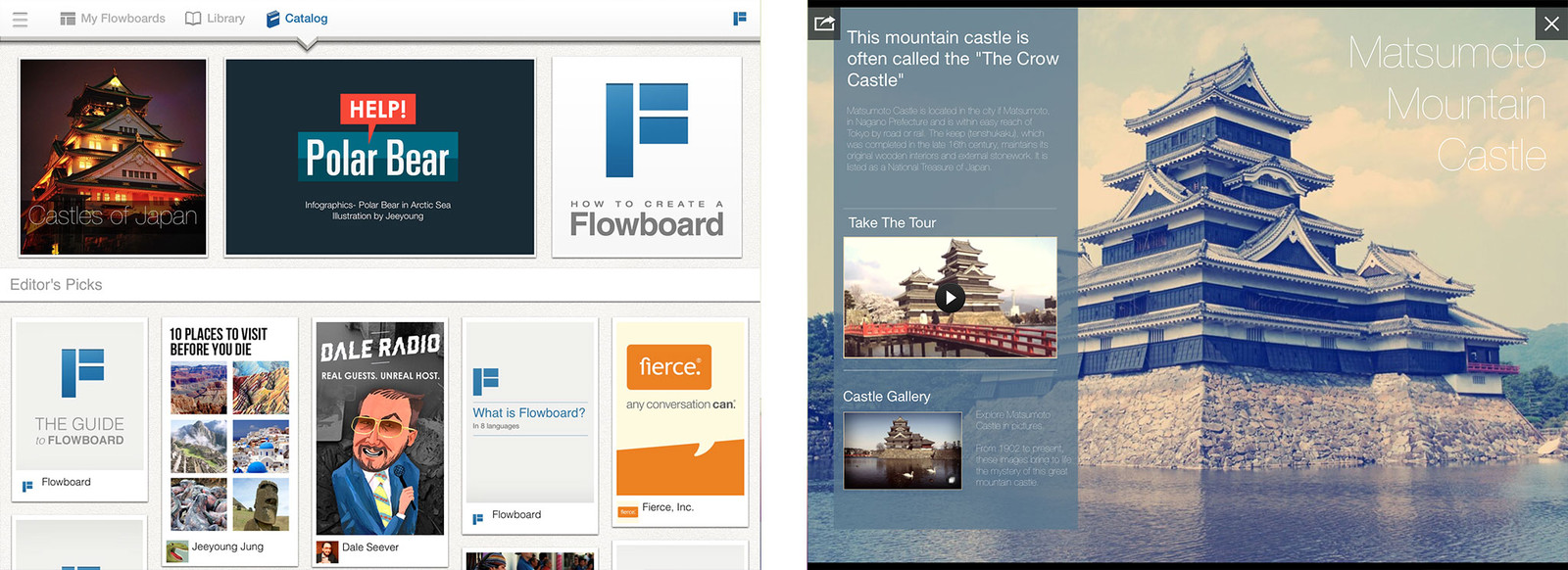 Best presentation apps for iPad: Flowboard