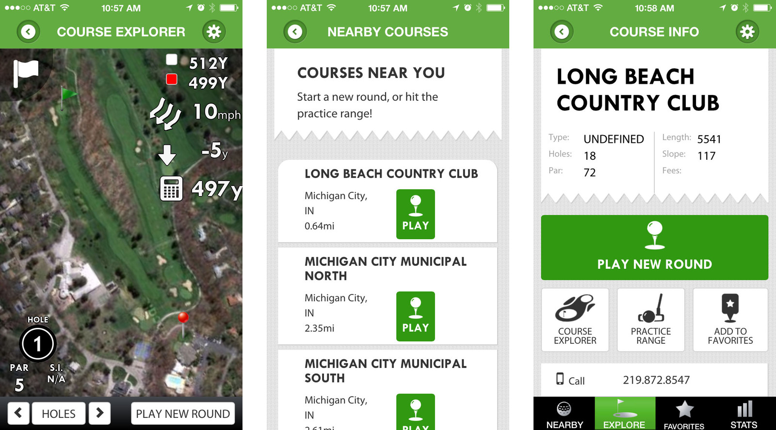 Best golfing apps for iPhone: Golf GPS and Scorecard by Swing by Swing