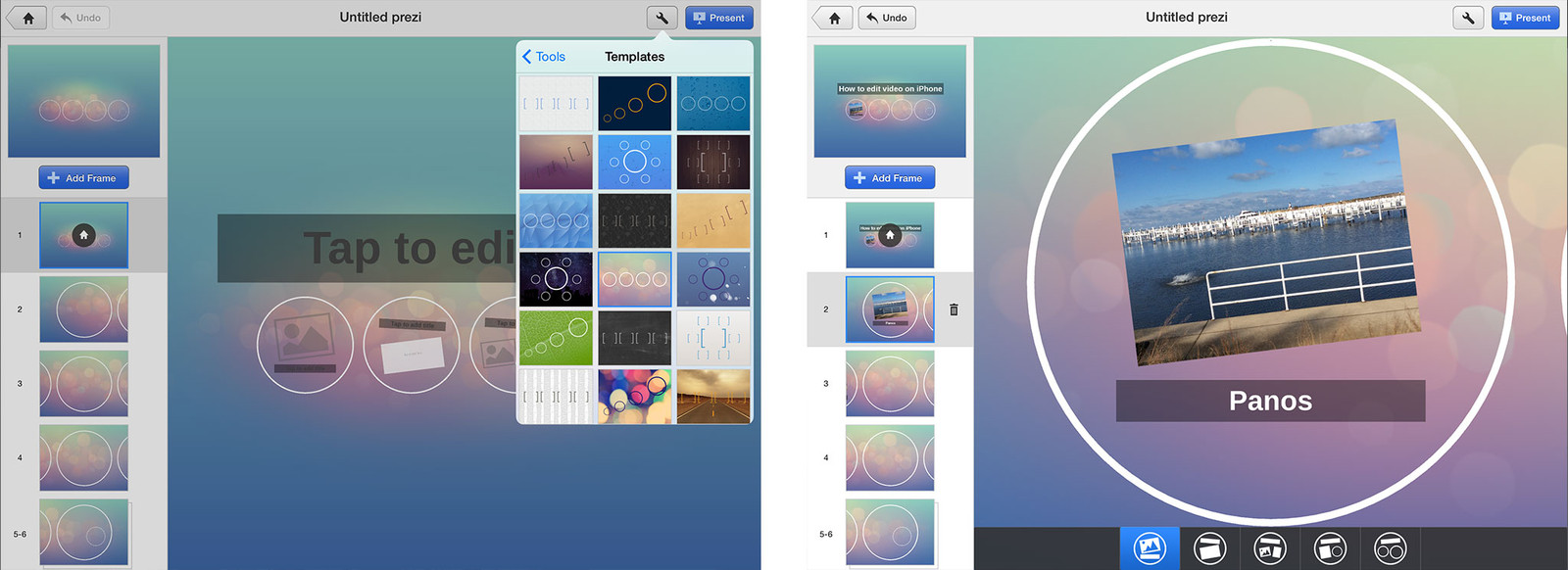 Best presentation apps for iPad: Prezi