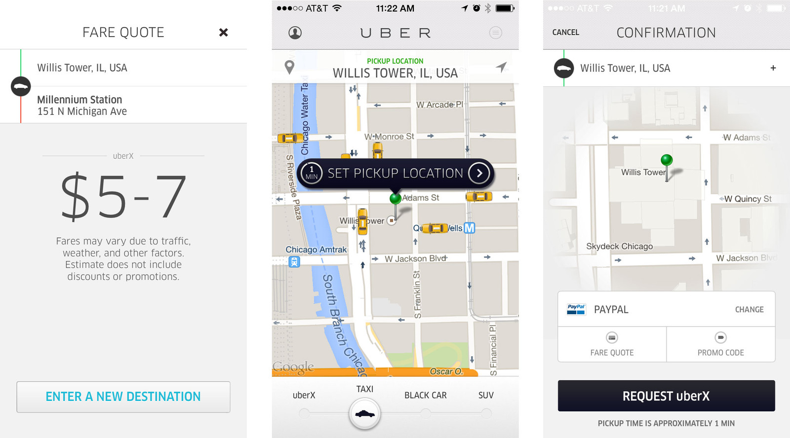 Best car rental and taxi apps for iPhone: Uber