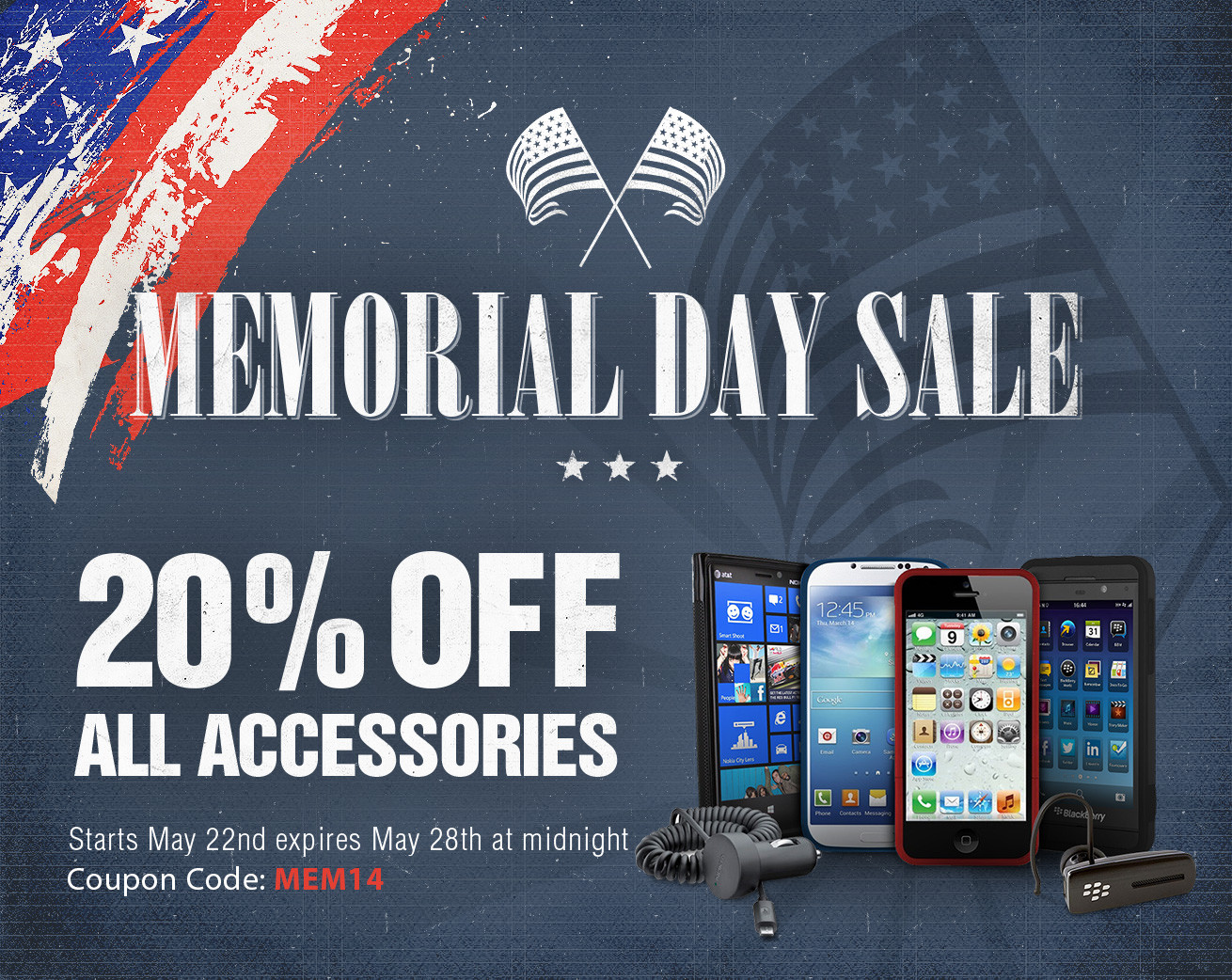 iMore store Memorial Day Sale! Save 20% on all iPhone and iPad accessories!