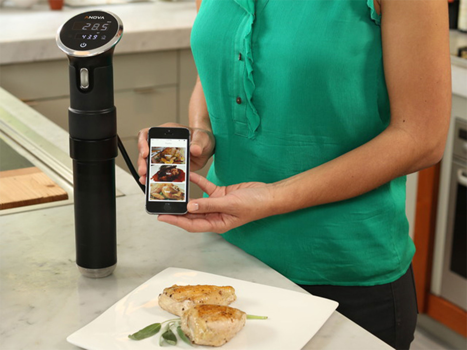 anova sous vide cooker now iphone controlled available for backing imore. Black Bedroom Furniture Sets. Home Design Ideas