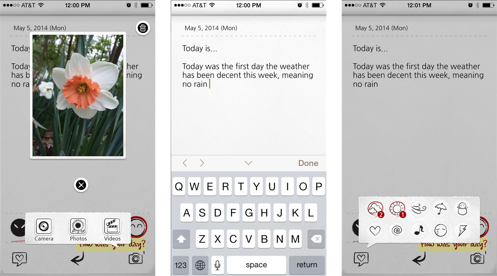 Best journaling apps for iPhone and iPad: My Wonderful Days