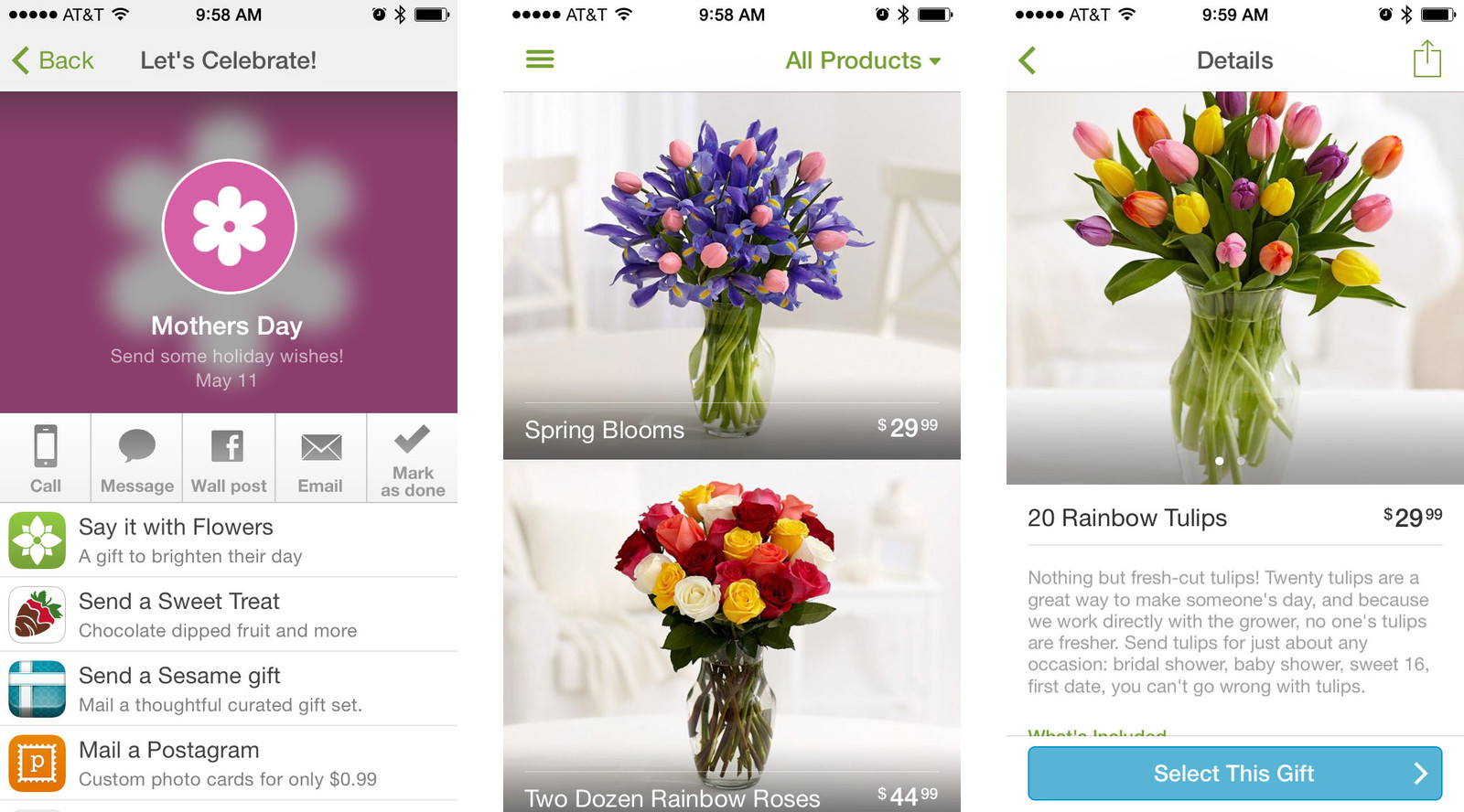 Best Mother's Day apps for iPhone and iPad: ProFlowers