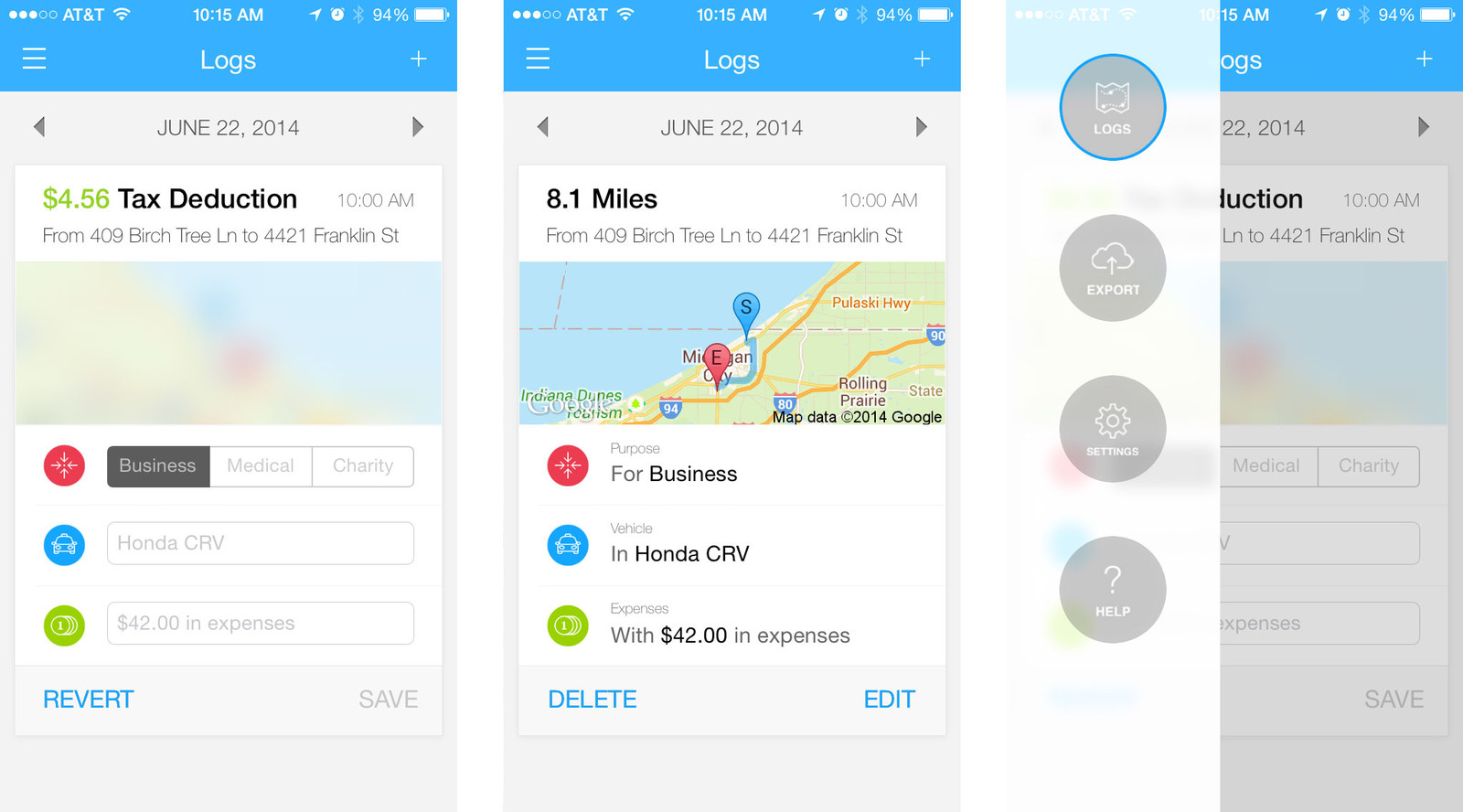 Best mileage tracking apps for iPhone: Auto Miles