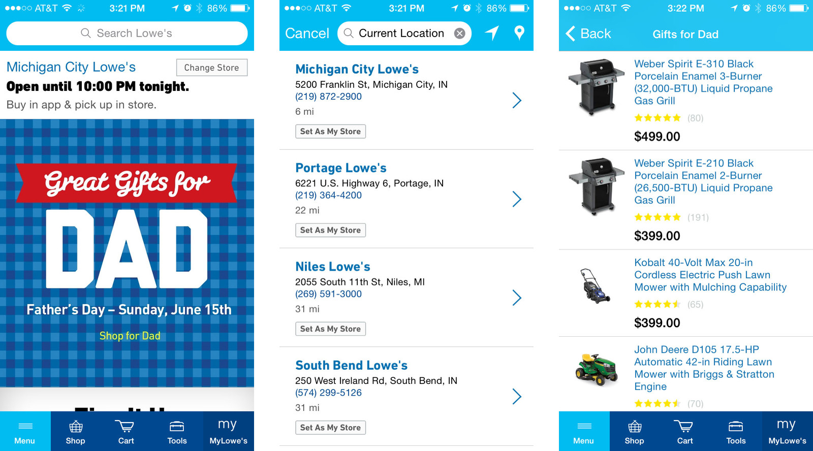 Best Father's Day apps for iPhone and iPad: Lowe's