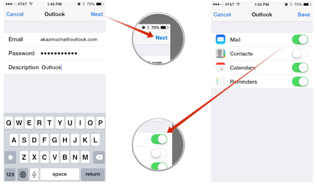 Outlook Calendar On Iphone >> How to set up Microsoft Outlook mail, calendar, contacts on iPhone and iPad | iMore