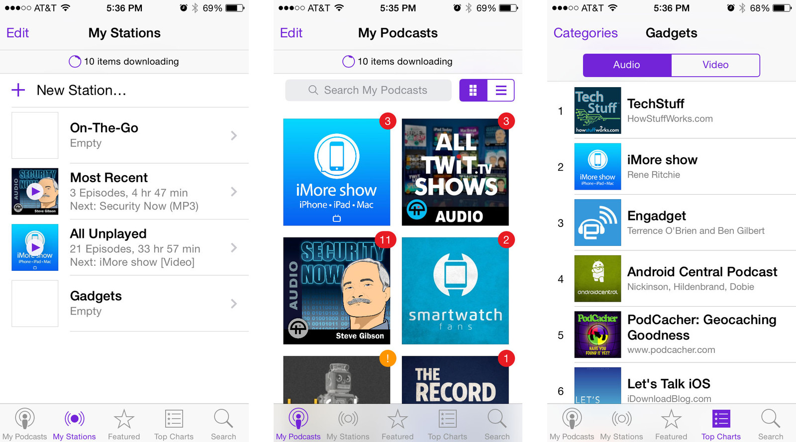 Best podcast apps for iPhone and iPad: Podcasts app