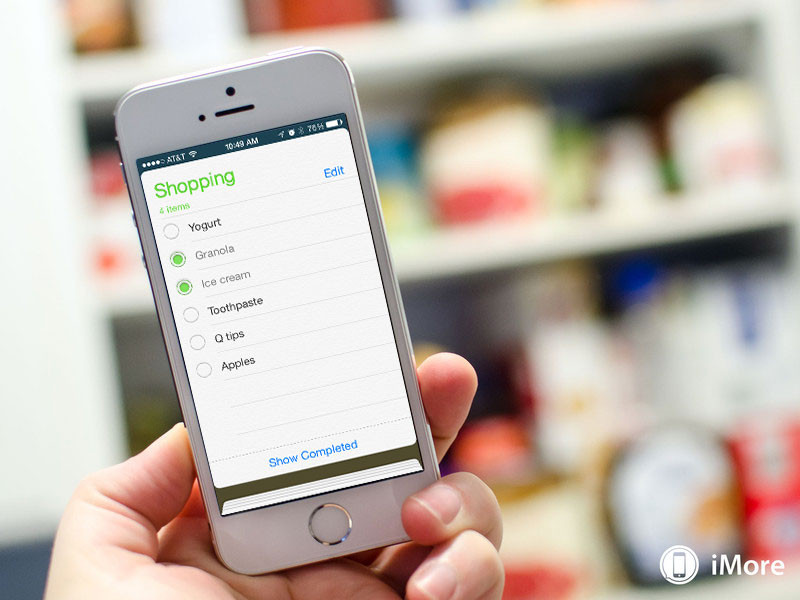 How to create and share a shopping list with siri and for How to design an iphone app