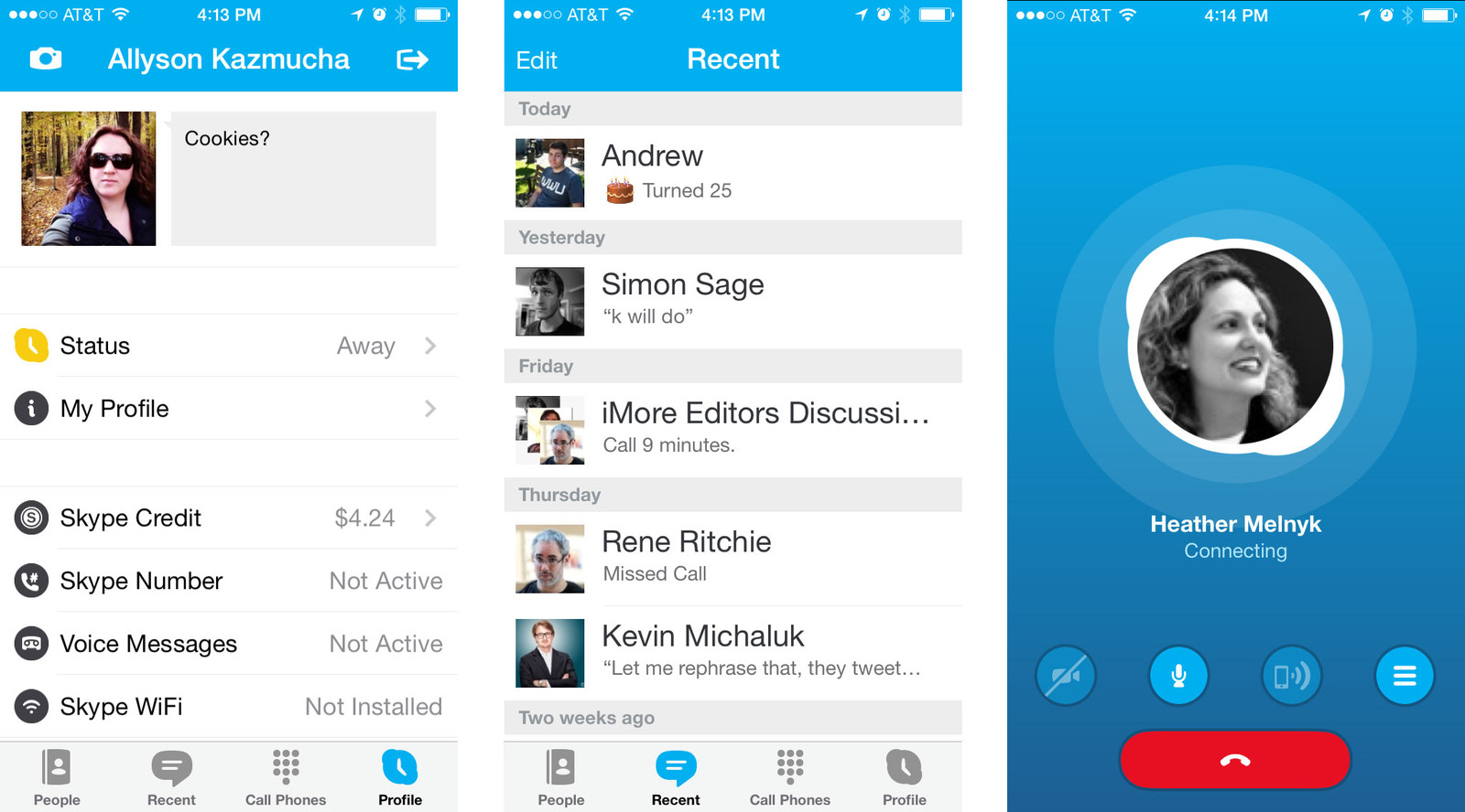 Best messaging apps for iPhone: Skype