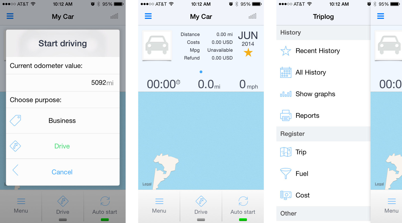Best mileage tracking apps for iPhone: Triplog