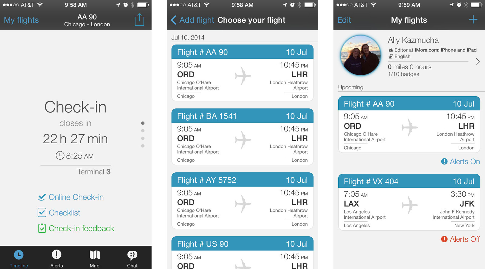 Best airport companion apps for iPhone: App in the Air