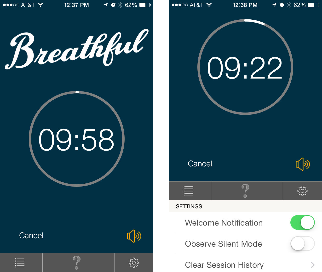 Best meditation apps for iPhone: Breathful