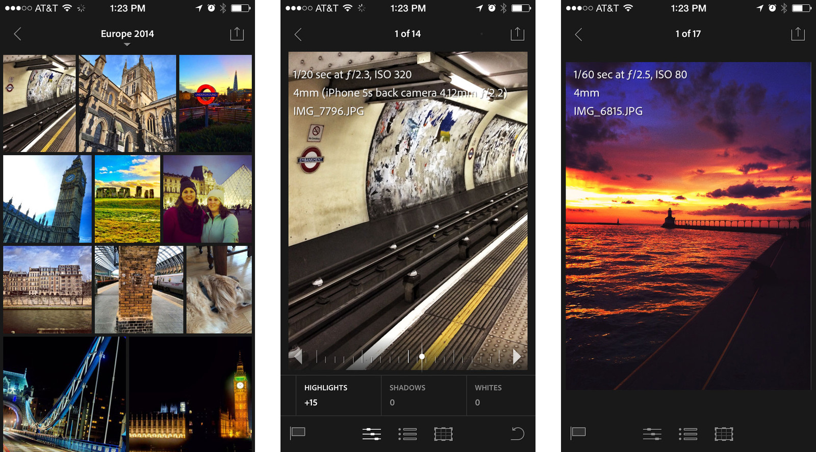 Best photo editing apps for iPhone: Lightroom Mobile