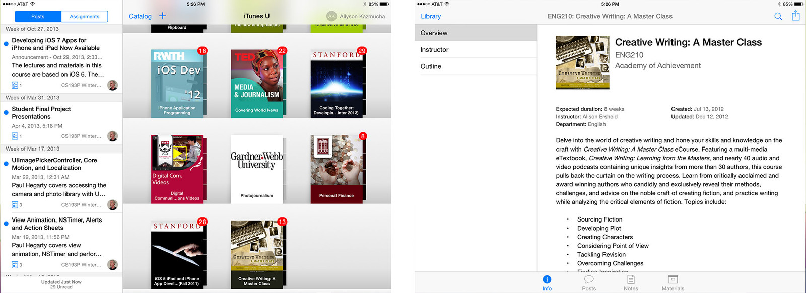 Best iPhone and iPad apps for college students: iTunes U