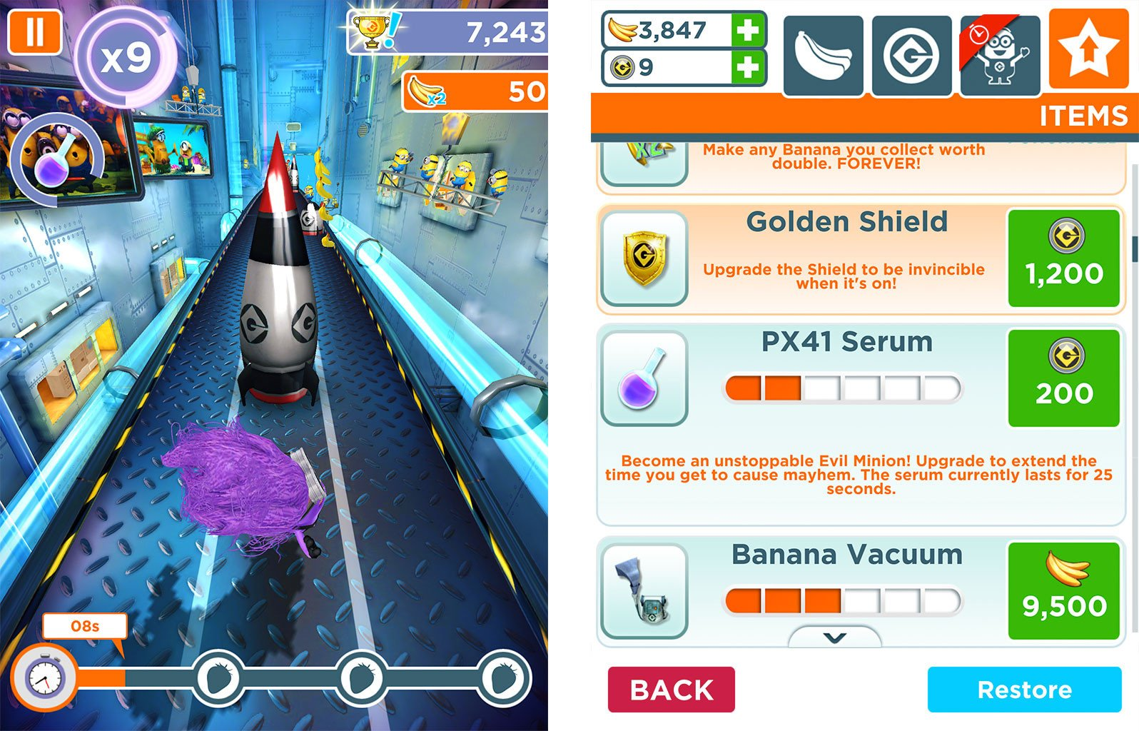 Despicable Me: Minion Rush tips, tricks, and cheats