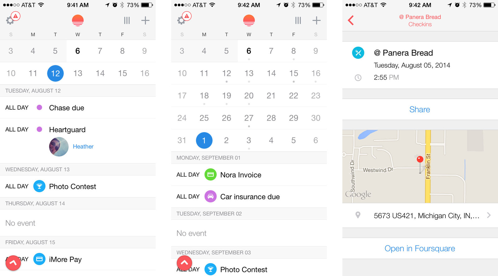 how to share calendar event on iphone best calendar apps for iphone imore 7244