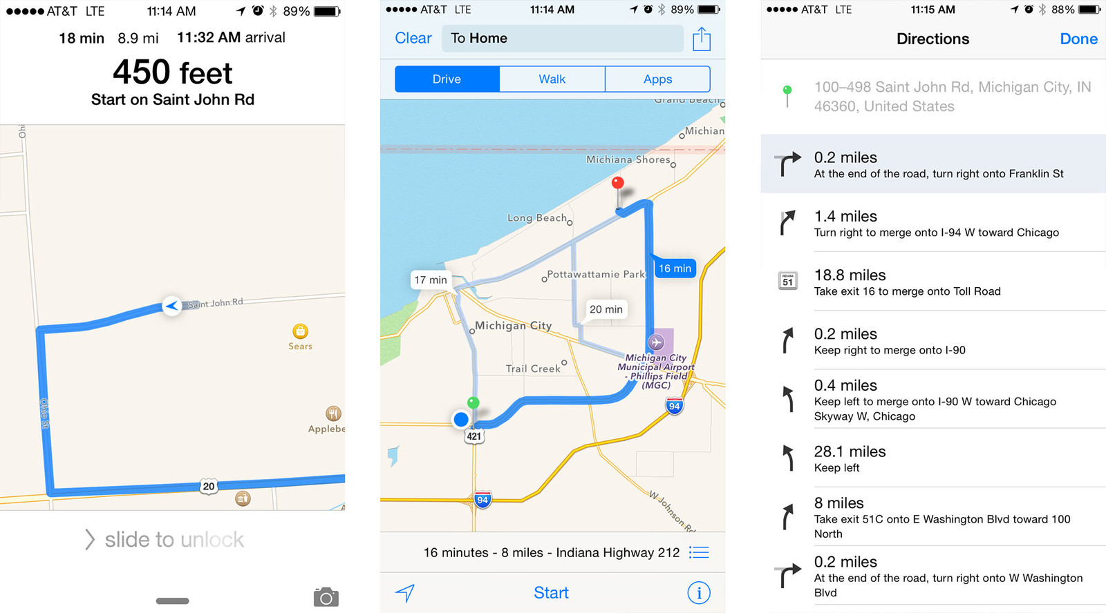 Best turn-by-turn navigation apps for iPhone: Apple Maps