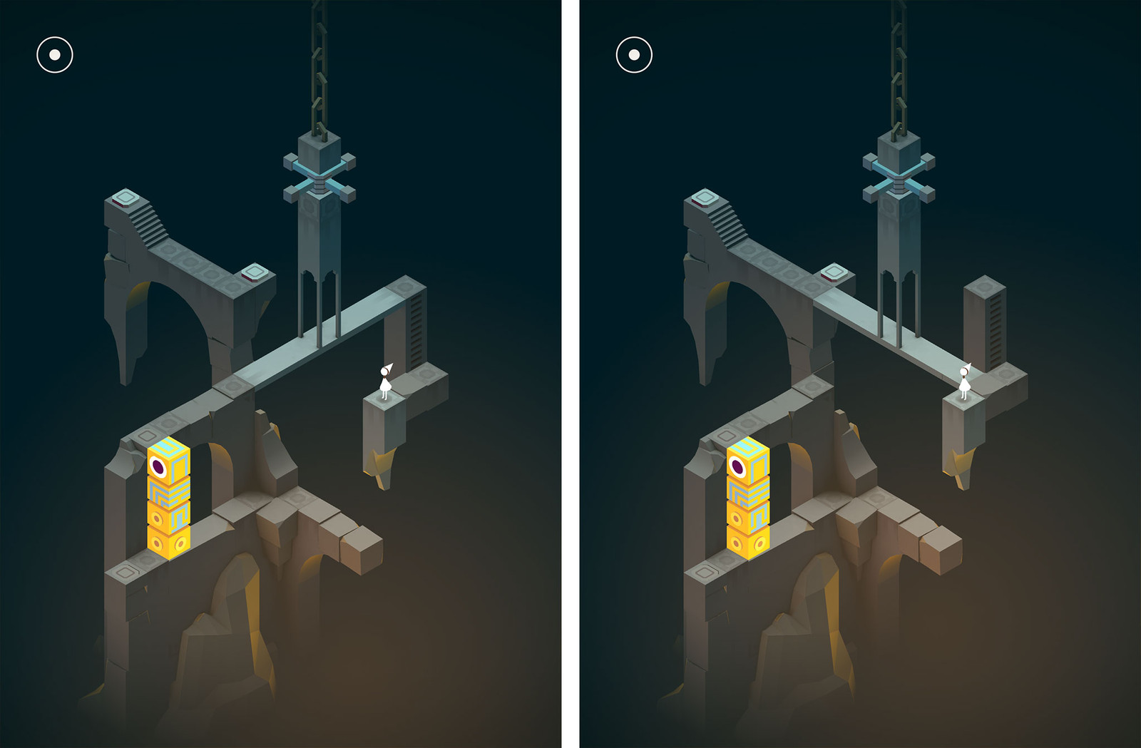 Monument Valley Forgotten Shores: Levels 1-4 walkthrough