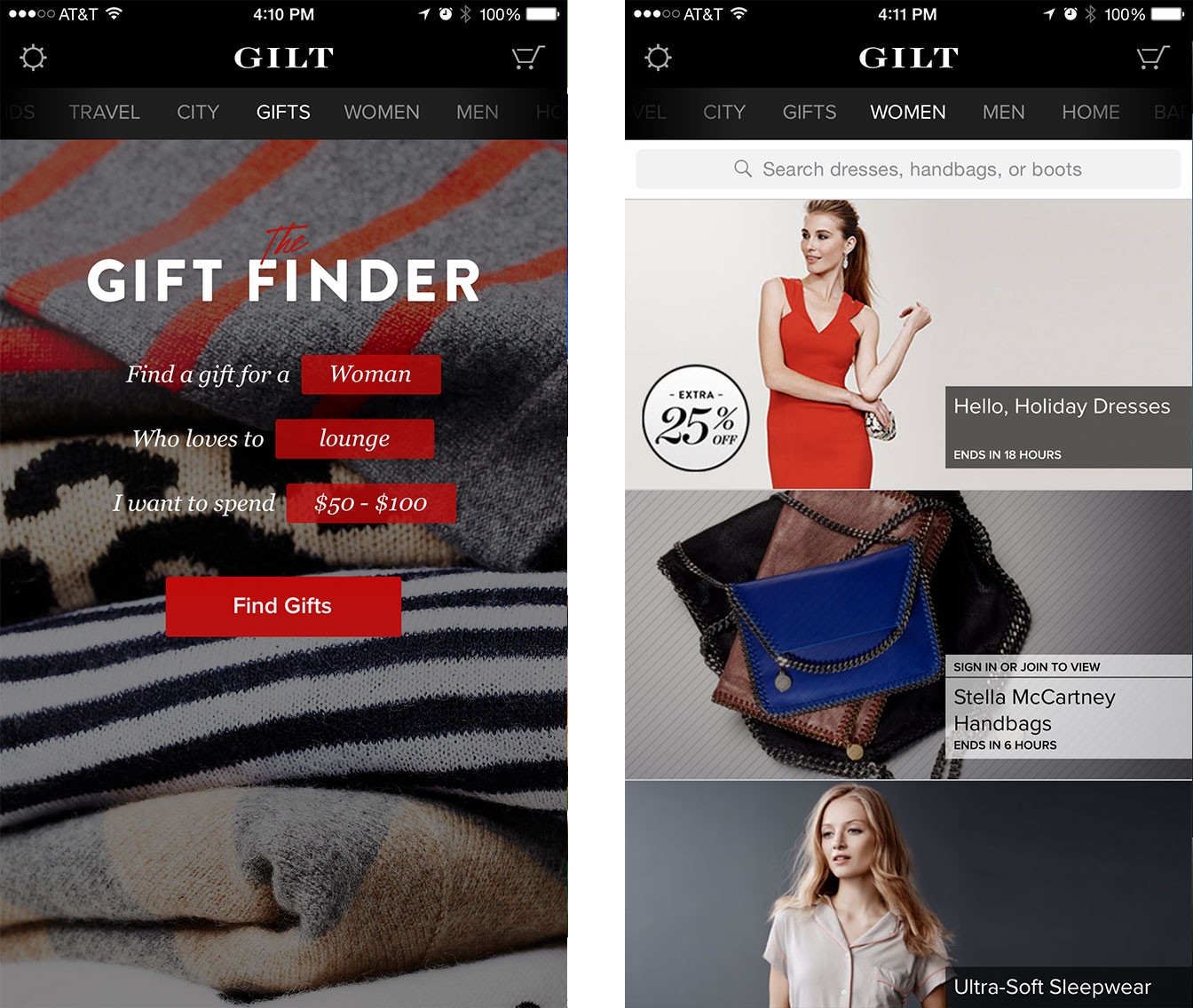 Best holiday shopping apps for iPhone and iPad: Gilt