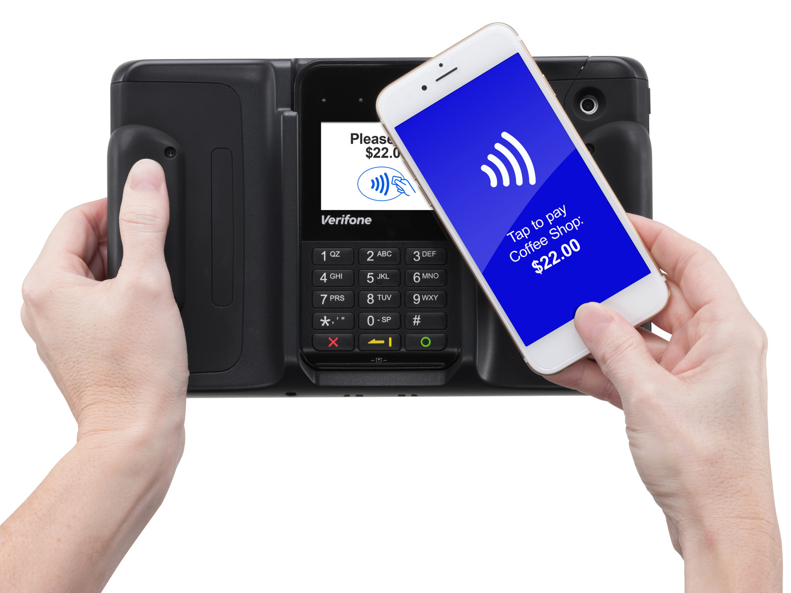 Verifone's new mobile point of sale is ready for Apple Pay