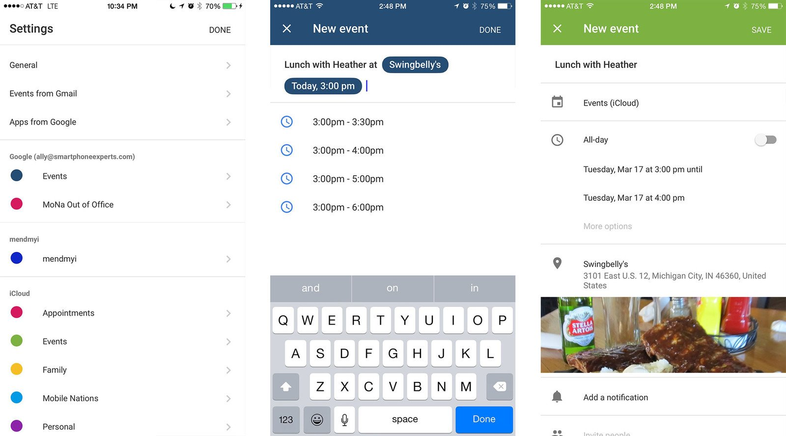 Google Calendar for iPhone review