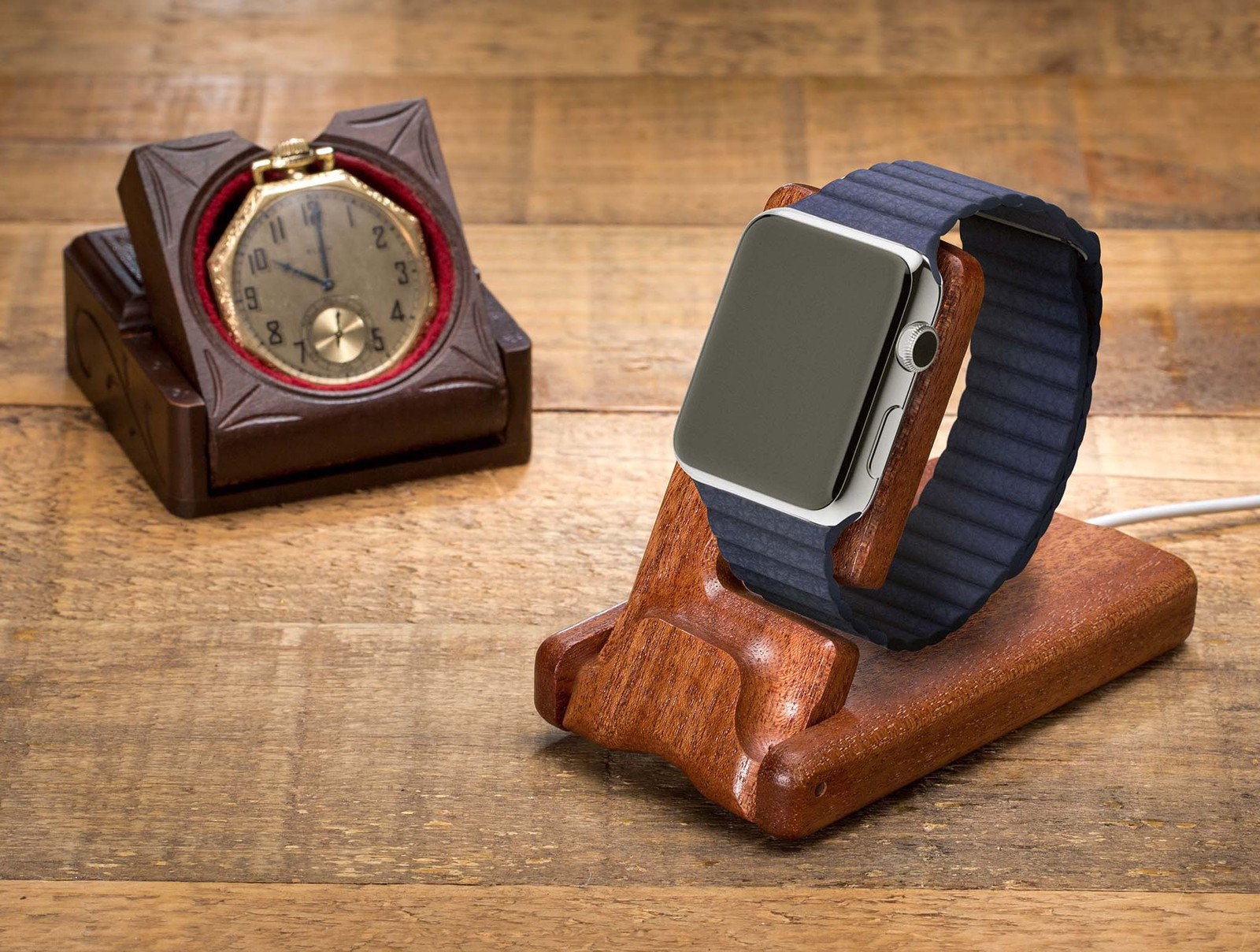 Pad Amp Quill Gets In On The Apple Watch Charging Stands