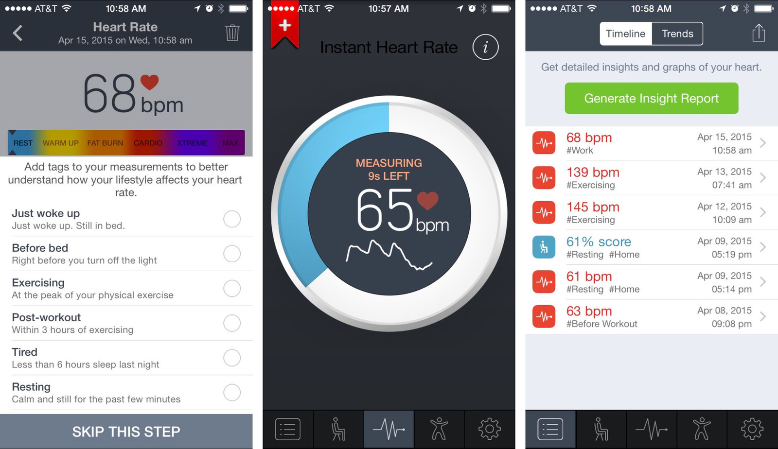 How to take your heart rate on iPhone, no additional monitor required!