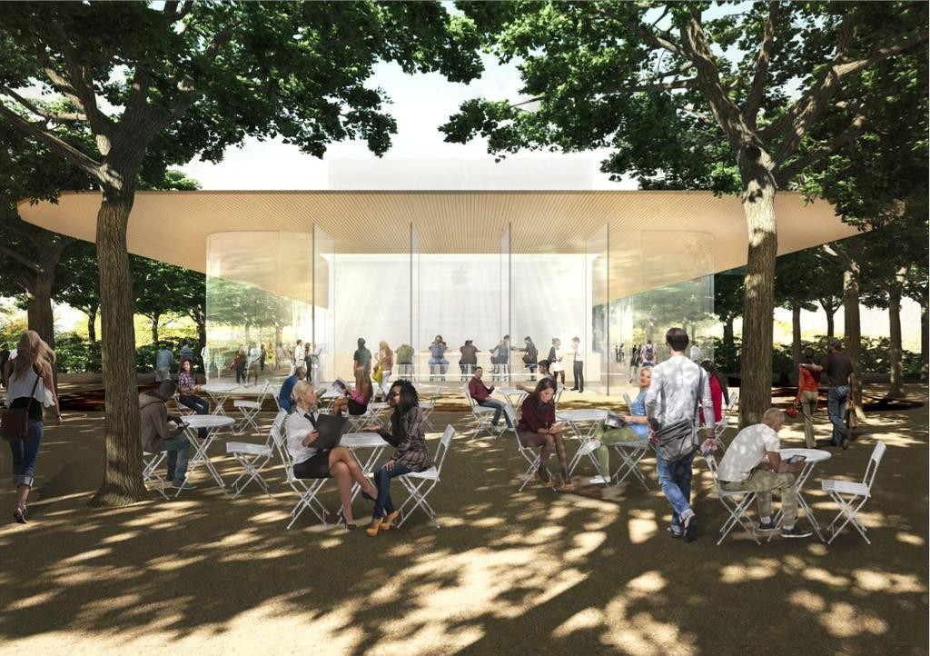 Apple's Campus 2 visitor's center to feature observation deck, store, and cafe