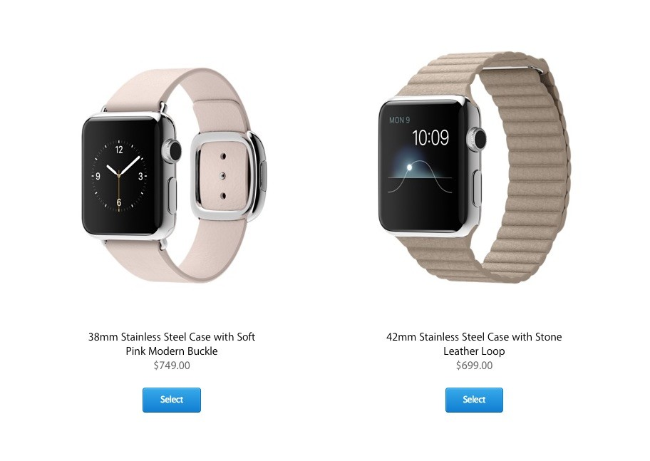 15d0a76d0 Even the way these leather band options are displayed on Apple's website  reads as gendered