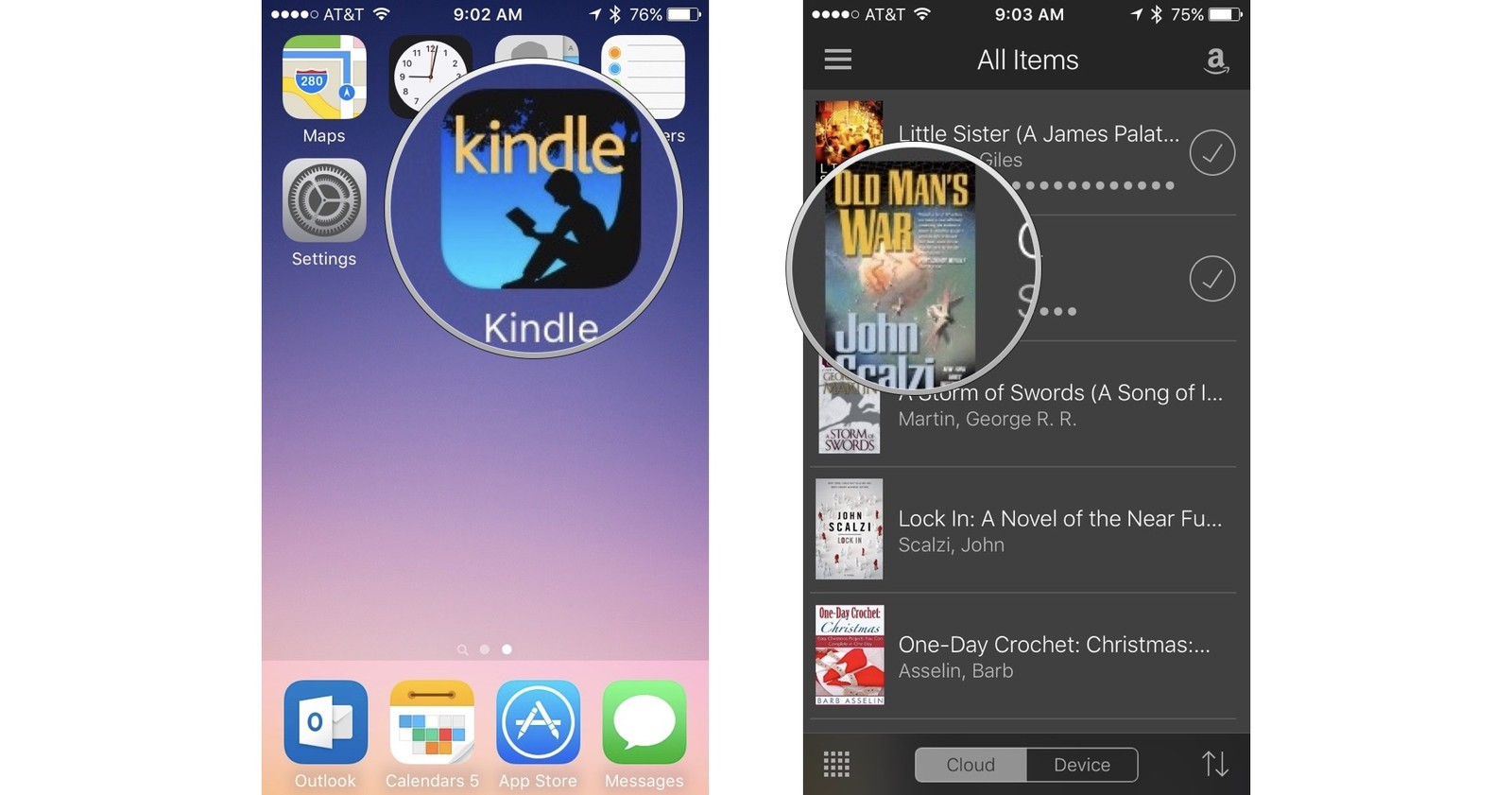 how to get more out of kindle for iphone and ipad imore rh imore com kindle ios app user guide amazon kindle app user guide