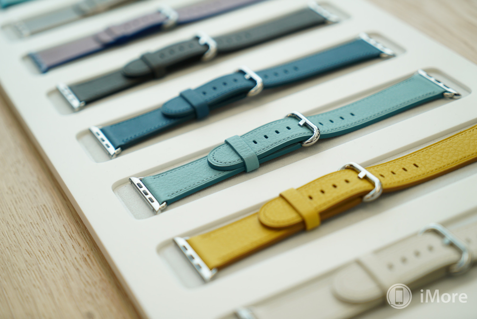 Leather bands for Apple Watch