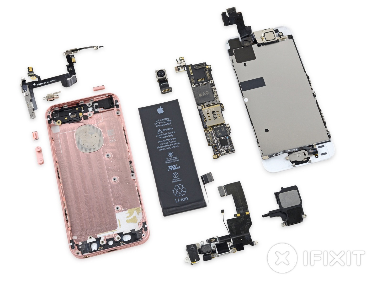 iFixit dives inside the iPhone SE in full teardown