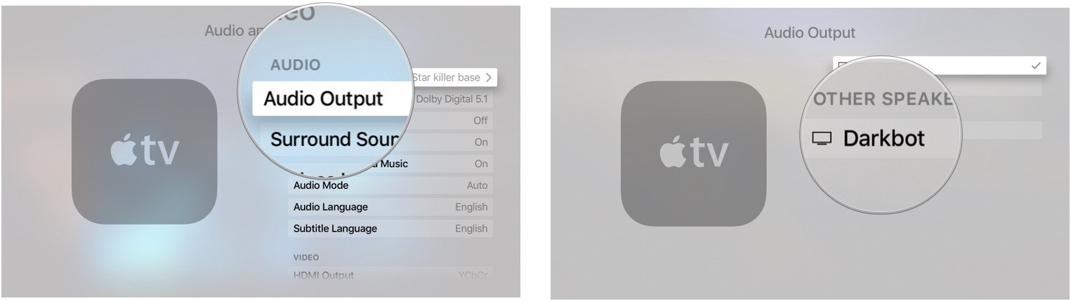 How to tweak audio and video settings on Apple TV | iMore