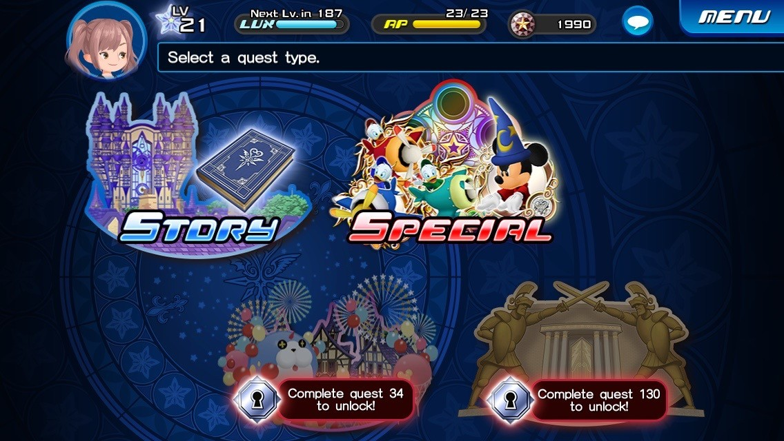 Image result for kingdom hearts unchained x