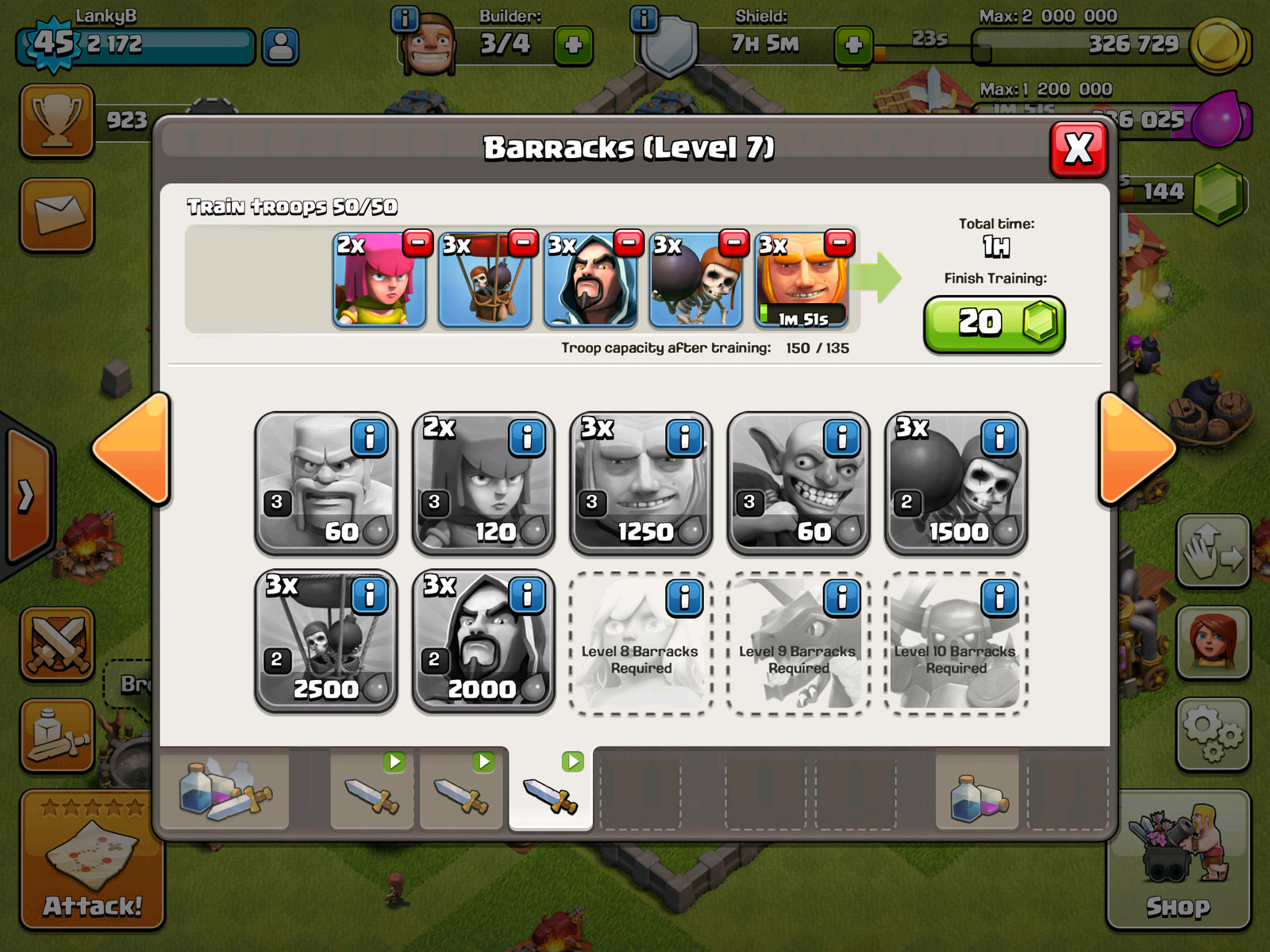 Best way to level up clash of clans