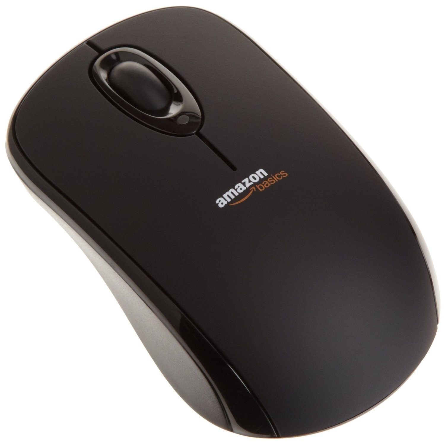 AmazonBasics wireless mouse with nano receiver