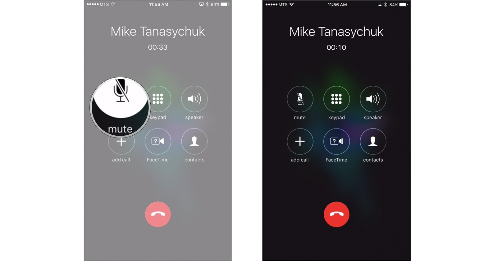how to use the phone app on iphone