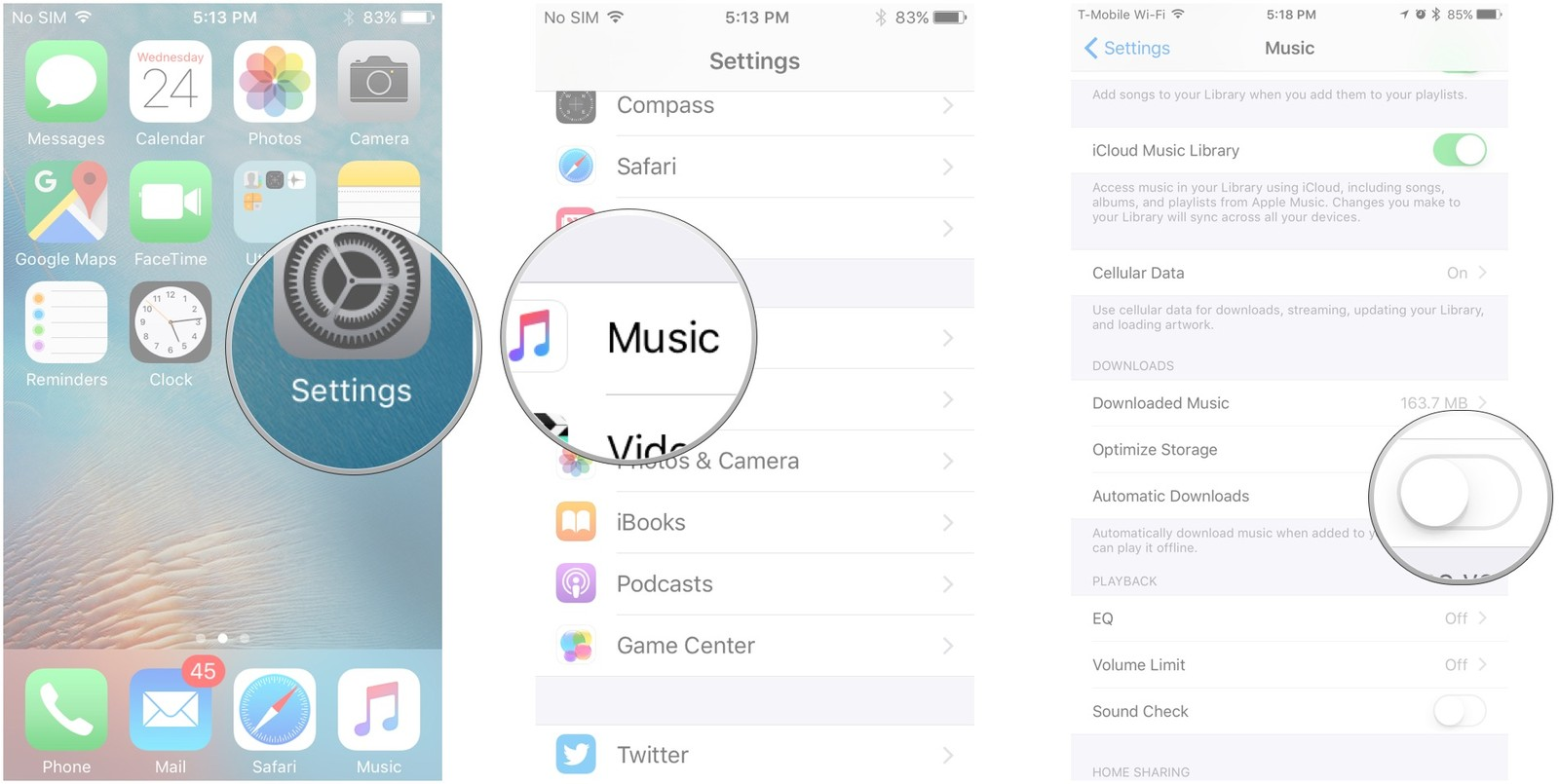 How to upload songs from iphone to macbook