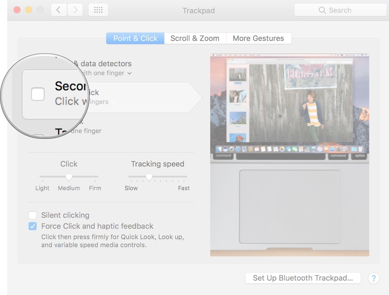 How to right click on a MacBook