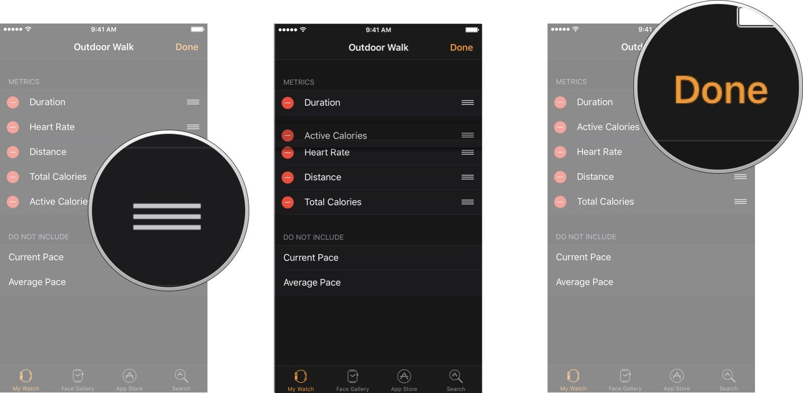 How to customize Workouts for Apple Watch