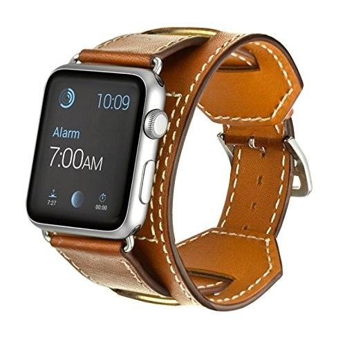apple 3 watch bands. inspired by the look of equestrian fixtures, elobeth leather band cuff has a beautifully unique style to pair with your apple watch! 3 watch bands g