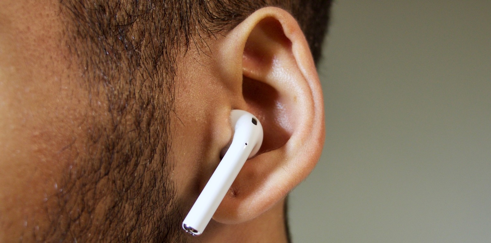 AirPods in my ears
