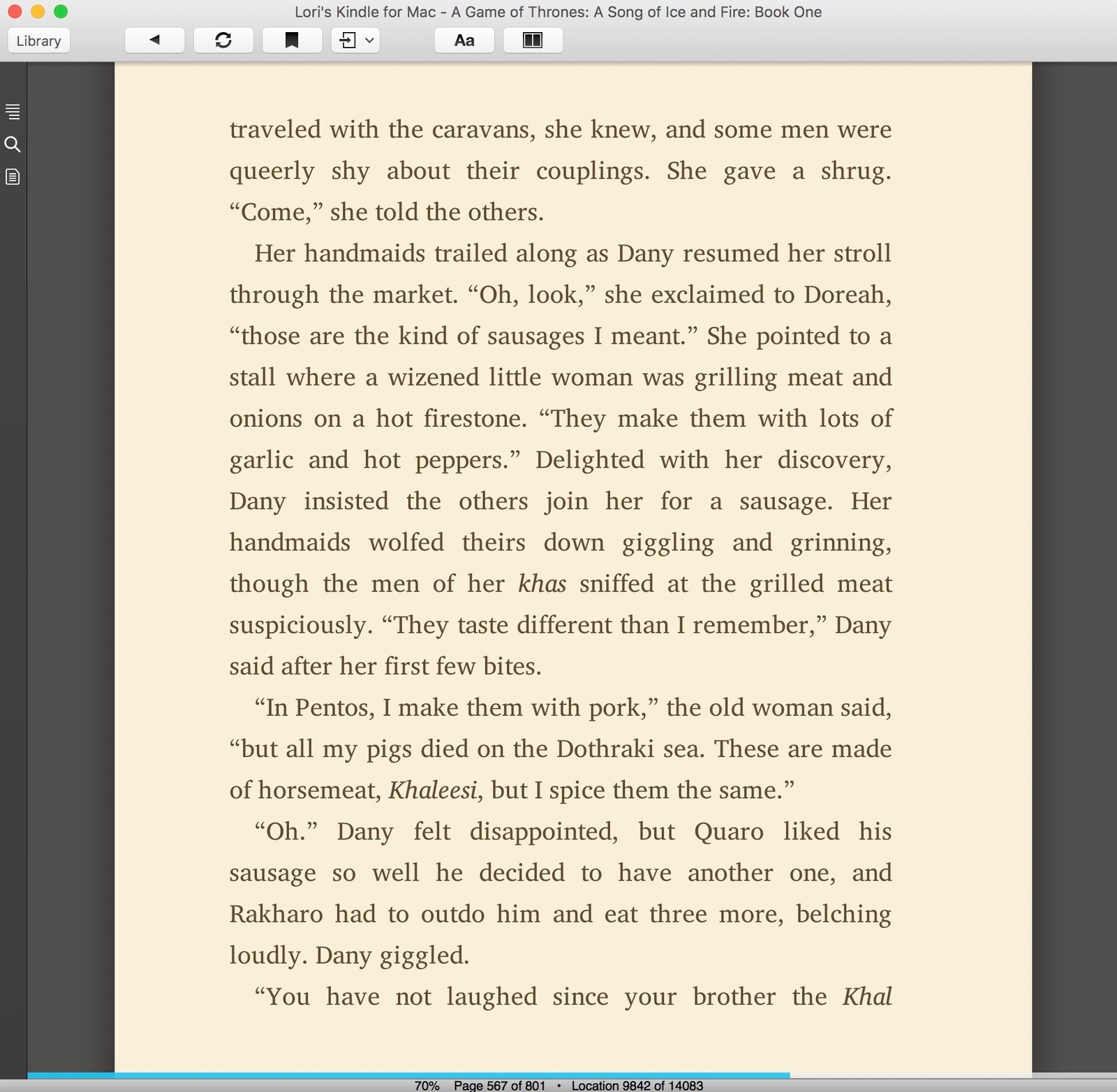 kindle on mac