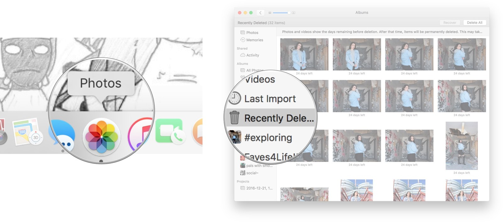 How To Delete And Recover Pictures And Videos In Photos For Mac Imore