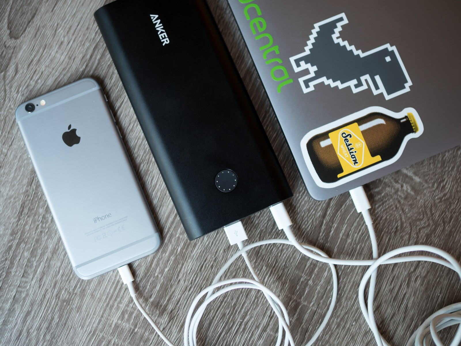 charging all the stuff