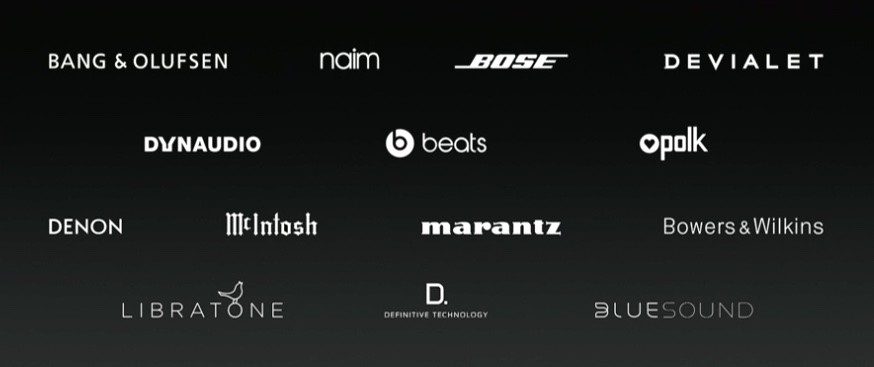 Companies with AirPlay 2 plans.